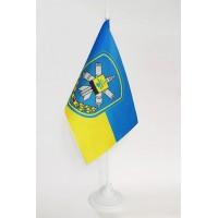 Настільний прапорець 156 зенітний ракетний полк Золотоноша