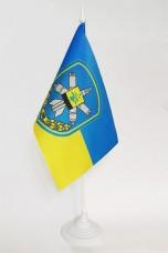 Флаг 156 зенітний ракетний полк Золотоноша настольний флажок (чи інший)