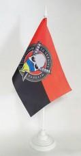 Флаг НАРОДЖЕНІ ВБИВАТИ ЗА УКРАЇНУ настольний прапорець