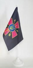 Настільний прапорець Сили Спеціальних Операцій ЗСУ (Крест) сірий