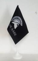 MOLON LABE Настольный флажок с спартанским девизом