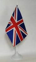 Настольный флажок Великобритании Материал Атлас