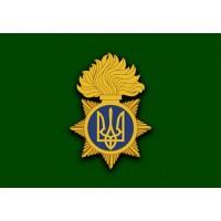 Прапор Національна гвардія України (зелений варіант)