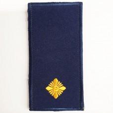 Погони НГУ синього кольору Молодший Лейтенант