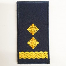 Погони НГУ синього кольору Підполковник