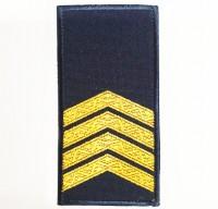 Погони НГУ синього кольору Старший Сержант