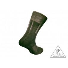 Термошкарпетки треккинговые демисезонные ТМ А.Т.А.К.А. черные