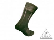 Купить Термошкарпетки треккинговые демисезонные ТМ А.Т.А.К.А. черные в интернет-магазине Каптерка в Киеве и Украине