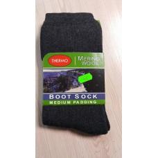Термошкарпетки Merino Wool Турция Антрацит