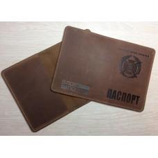 Обкладинка на Паспорт тиснення новий знак ЗСУ