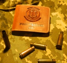Обкладинка Учасник Бойових Дій Морська піхота коричнева