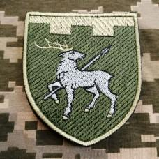 Нарукавний знак 123 окрема бригада ТрО Миколаївська обл Польовий