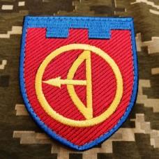 Купить Нарукавний знак 112 окрема бригада ТрО місто Київ в интернет-магазине Каптерка в Киеве и Украине