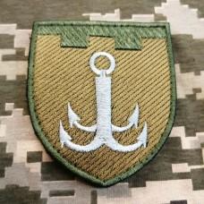 Нарукавний знак 122 окрема бригада ТрО Одеська обл Польовий