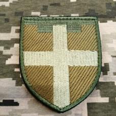 Нарукавний знак 115 окрема бригада ТрО Житомирська обл Польовий