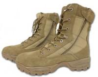 Ботинки Mil-tec тактические на 2-х молниях, койот