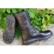 Ботинки кожанные высокие легкие