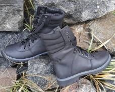 Зимние ботинки на меху. Черные. Берцы 18см АКЦИЯ последний размер