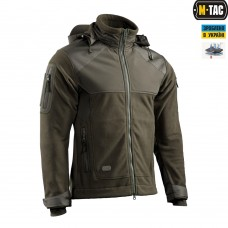 Куртка M-Tac Norman Windblock Fleece OLIVE флис-софтшелл