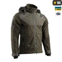Куртка M-Tac Norman Windblock Fleece OLIVE фліс-софтшелл