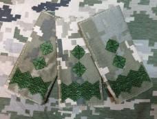 Погон Генерал лейтенант Пиксель ММ14 Муфта Акція 3шт