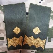 Погон Генерал майор ОЛИВА на липучці Пара Акція