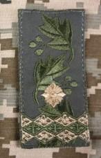 Погон Генерал-Майор ОЛИВА (Тип 2) на липучці