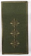 Погони ст. лейтенант ОЛИВА Універсальний - муфта-липучка