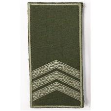 Погон сержант ОЛИВА Універсальний - муфта-липучка