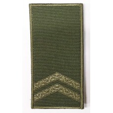 Погон мол. сержант Олива Універсальний - муфта-липучка