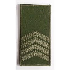 Погон ст.сержант Олива Універсальний - муфта-липучка