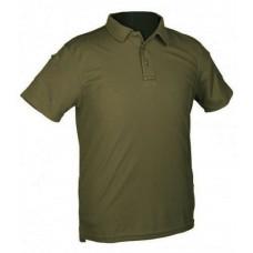 Тактична футболка поло TACTICAL QUICK DRY POLOSHIRT Mil-Tec Olive
