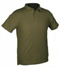 Купить Тактична футболка поло TACTICAL QUICK DRY POLOSHIRT Mil-Tec Olive в интернет-магазине Каптерка в Киеве и Украине