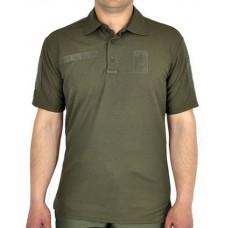 Поло Олива coolpass Military Style з липучками