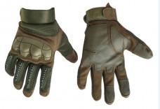 Купить Тактичні рукавиці з м'яким захистом кісточок і пальців (олива) в интернет-магазине Каптерка в Киеве и Украине