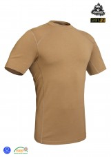 P1G-TAC Футболка полевая PCT Punisher Combat T-Shirt Coyote Brown