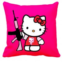 Подушка Kitty with AR15