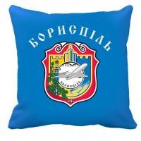 Декоративна подушка місто Бориспіль