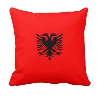 Подушка флаг Албания