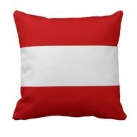 Декоративна подушка прапор Австрії