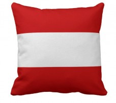 Подушка флаг Австрии