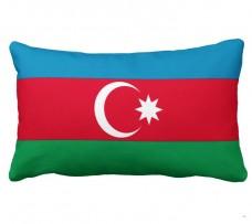 Подушка флаг Азербайджана