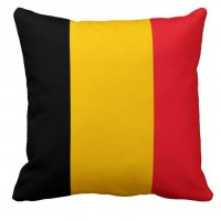 Подушка флаг Бельгии