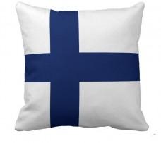 Подушка флаг Финляндии