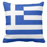 Подушка флаг Греции