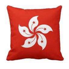 Декоративна подушка прапор Гонконг