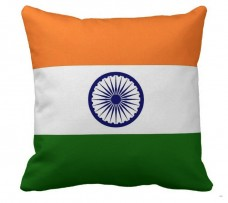 Декоративна подушка прапор Індії