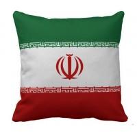 Декоративна подушка прапор Ірану
