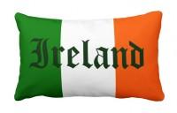 Декоративна подушка прапор Ірландії IRELAND