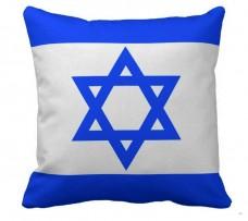 Декоративна подушка прапор Ізраїль